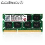 Transcend transcend 4GB DDR3, DDR3, portÁtil, 204-pin so-dimm, 256M x 8,