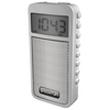 Transistor portátil BRIGMTON BT-126 AM/FM display digital reloj memoria blanco
