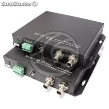 Transmitter 1 channel sd-sdi hd-sdi 3G-sdi fiber optic RS485 40km fc SMPTE424M