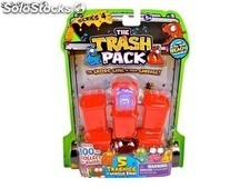 Trash Pack. Serie 4. 68115. Blister 5 cubos