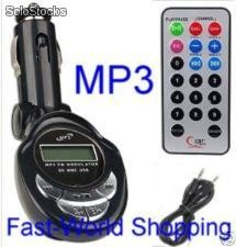Trasmettitore fm wireless MP3 usb ipod mmc sd radio