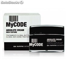 Tratamiento global antiedad mycode absolute cream rich