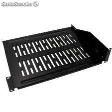 """Tray for 19\"""" rack cabinet Shelving with front fixing 355 mm deep 2U (WK88-0002)"""