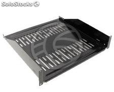 """Tray for 19\"""" rack cabinet Shelving with front fixing 445 mm deep 2U (WK89-0002)"""