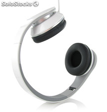Trendy Over-Ear Headphones With Folding Plastic Br