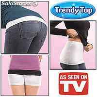 Trendy Top Ropa Interior, Anunciado en TV