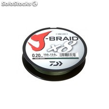 Trenzado daiwa jbraid 8B 300 mt 20MM
