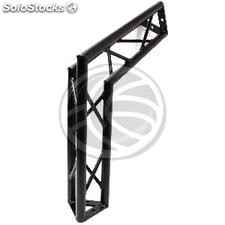 Triangular truss 150mm black aluminum 120-degree angle (XT53)