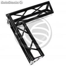 Triangular truss 150mm black aluminum 90-degree angle type-2 (XT14-0002)