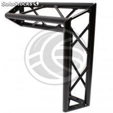 Triangular truss 150mm black aluminum 90-degree angle type-3 (XT15-0002)