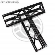 Triangular truss 150mm black aluminum triple T1 connection (XT16-0002)