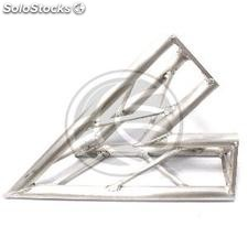 Triangular Truss 150mm silver aluminum 45-degree angle (XT42)