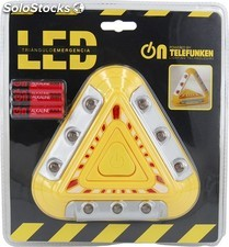 Triangulo de emergencia led