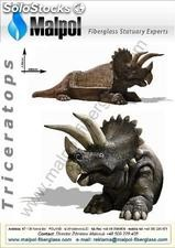 Triceratops Bench Art. No. m 092