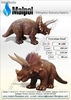 Triceratops Small Art. no. m 100