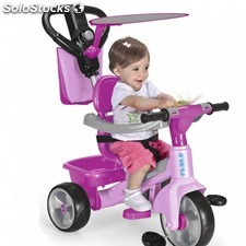 Triciclo baby plus music V2 pink