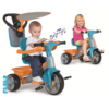 triciclo trike baby plus music