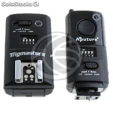 Trigmaster II Remote Shutter Aputure 2.4GHz kit for Canon (JI41)