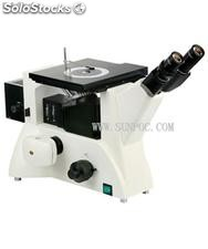 Trinocular Inverted Polarized Metallurgical Microscope (wendy at sunpoc.com)