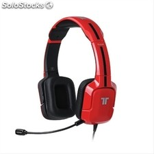 Tritton auriculares red pc kunai stereo·
