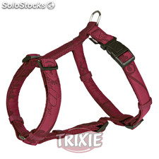 Trixie Arnés King of Dogs Elegance,S-M,40-65cm,15mm,Bur.