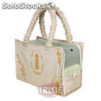 Trixie bolso king of dogs beig 36X26X17