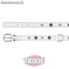 Trixie Collar Active Soft, Diseños,XS-S,27-32cm,20mm,Blco