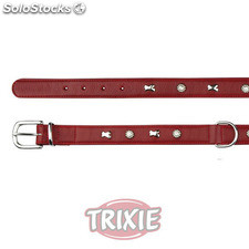 Trixie Collar Active Soft,Remaches,XS-S,27-32cm,20mm,Rojo