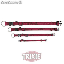 Trixie Collar King Dogs Elegance,XS-S,22-35cm,10mm,Burdeo