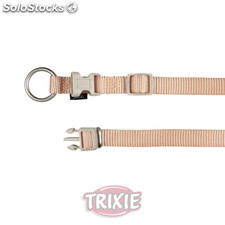 Trixie Collar Premium, M-L, 35-55 cm,20 mm, Beige
