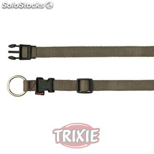 Trixie Collar Premium, M-L, 35-55 cm,20 mm, Gris.