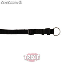 Trixie Collar Premium, M-L, 35-55 cm,20 mm, Negro