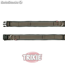 Trixie Collar Premium, Neopreno, L-XL,55-61cm,30mm, Gris