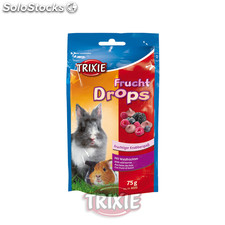 Trixie Drops Vitaminados, roedores, Frutos bosque, 75g