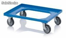 TROLLEY, 2 RG 2 RF DE BORRACHA, AZ
