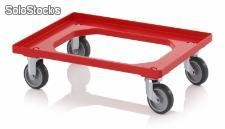 TROLLEY, 2 RG 2 RF DE BORRACHA, VM