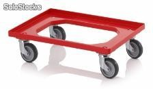 TROLLEY, 4 RG DE BORRACHA, VM