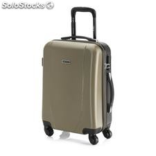 Trolley abs cabina bicolor champagne