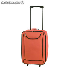 Trolley plegable naranja soch