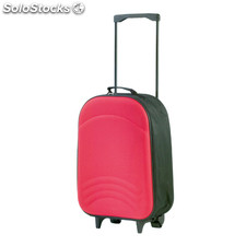 Trolley plegable rojo avant