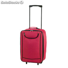 Trolley plegable rojo soch