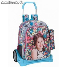 Trolley + Portatodo Soy Luna Disney Carro Evolution