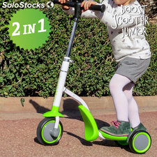 Trotinete-Triciclo Boost Scooter Junior 2 em 1 (3 rodas)