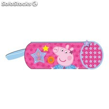 Trousse Scolaire Tube peppa pig - Stars