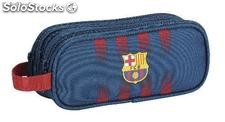 Trousse Triple compartiment fc Barcelona