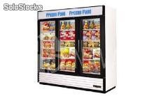 True gdm-72f 3-section glass door freezer merchandiser, 72-cu ft - cod. produto nv2407