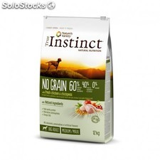 True instinct original pollo no grain medium 12KG