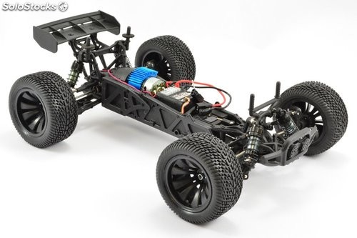 Truggy eléctrico 4WD verde RTR FTX 1/12 Surge brushed RC