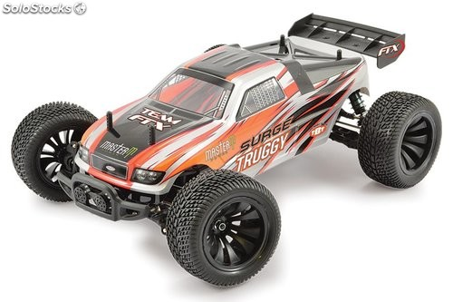 Truggy Surge eléctrico 4WD naranja 1:12 Brushed RTR FTX RC