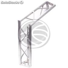 Truss triangular silver aluminum 150mm 120-degree angle (XT43)